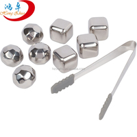 2016 new products ice cubes stainless steel whiskey stone