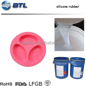 Hot Selling Food-grade Molding Rtv Liquid Silicone Rubber For Silicone Table Wares Products