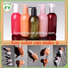 High quality 300ml PET clear Cosmetic lotion bottle manufacturer/skin care spray bottle with pump top