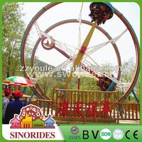 Attractive fun ferris ring rides outdoor amusement moto racing,outdoor amusement moto racing