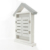 Littel House Design Decorative Free Stand or Wall Mounted Wooden Key Holder Box