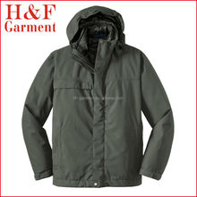 Man jacket 2015 trendy winter clothing for outdoor windproof 3 in 1 jacket