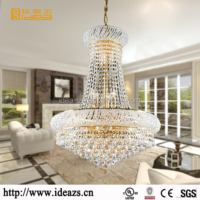 C9090 cheap small crystal chandelier, optical fiber hanging lights, k9 crystal chandelier light