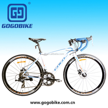 Tianjin manufacturer 700C x 23C Kenda tire aluminum alloy frame 14 speed sports racing bike road