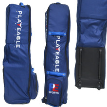 hot sell blue golf bag with wheel PLAYEAGLE golf bag cover black strong golf travel bag
