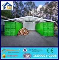 china supplier easy assembled module shipping container shelter