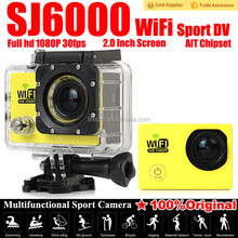 2015 high quality Full HD 1080P digital video camera SJ6000 wifi sport camera with protective covering