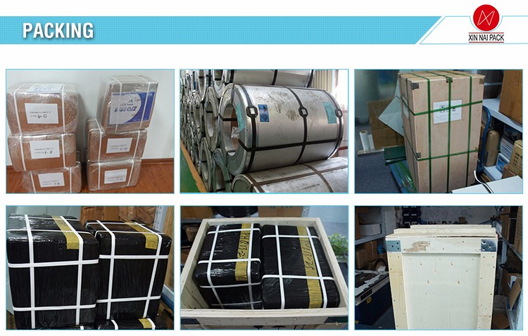 Top quality useful high quality box packing machine