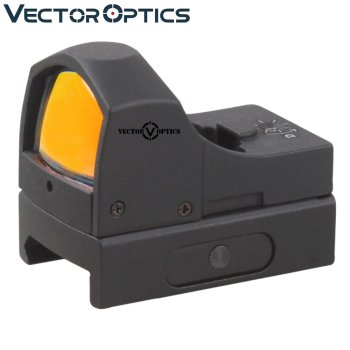 "Vector Optics Sphinx 1x22 Switchless Micro Red Dot Sight 48mm 1.9"" Length"