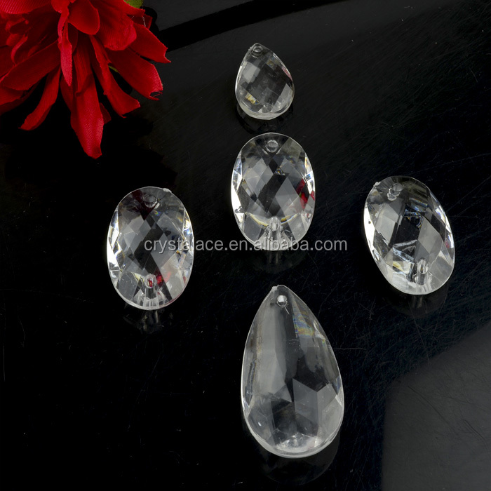 Cheap Wholessale Price Clear Acrylic Beads Crystal Charm Chandeliers