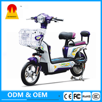 New product 350W 48V adult electric bike 2 wheel battery powered scooter cheap electric moped