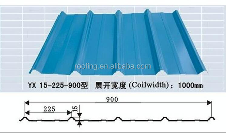 Cold rolled corrugated prepainted galvanized iron corrugated roof sheet