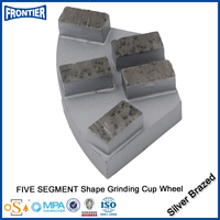 Competitive price Discount grinding diamond wheel with two side recessed