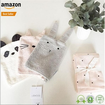 Newborn Baby cotton knitted Infant Anti Scratch mittens