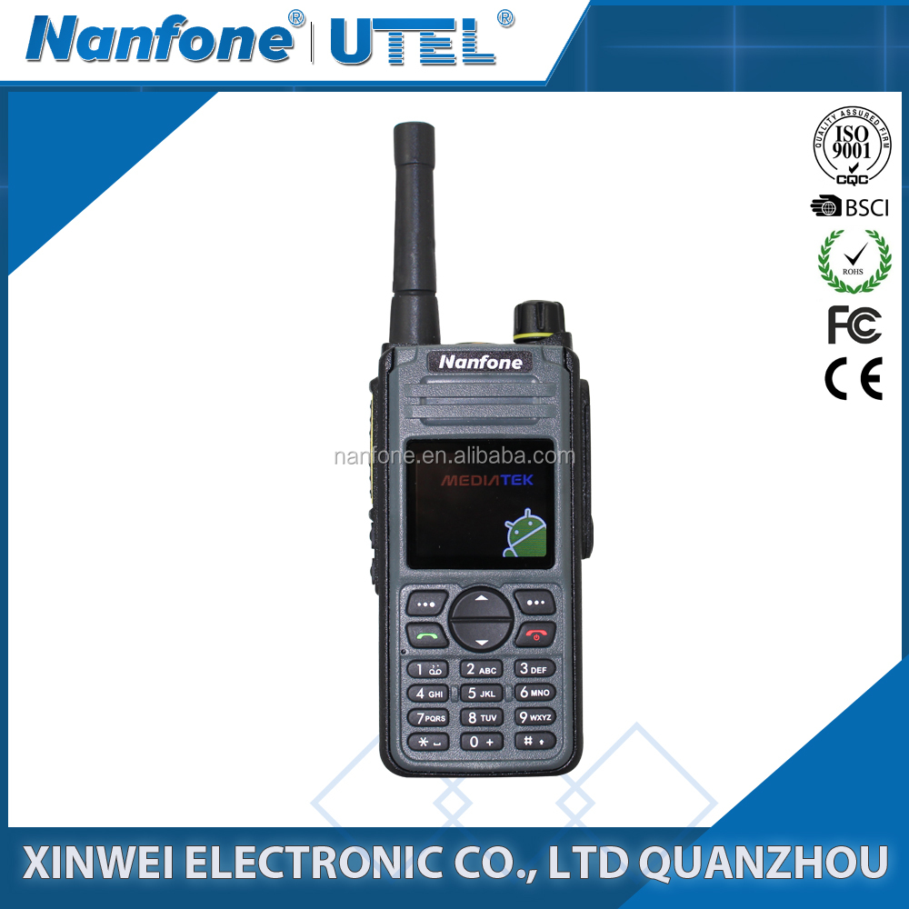 3G GSM SIM Walkie Talkie and Two Way Radio with GPS Function