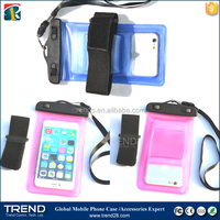 mobile phone waterproof bag, waterproof smartphone bag for iphone