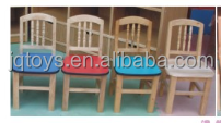 Factory price Pinus sylvestris multifuctional wooden chair for kids