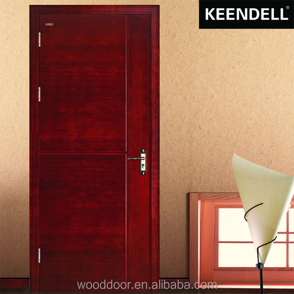 China cheap Interior pine solid wood door