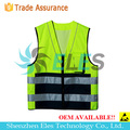 Adults 100% polyester safety reflective vest EN ISO 20471