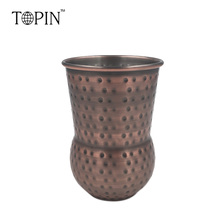 India style stainless steel 304 copper plated mug Hot sell