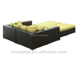 2016 SIGMA Indoor Outdoor Furniture Double Beds Cheap Sofa Bed