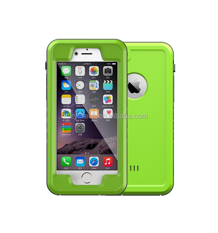 New Waterproof Shockproof Dirtproof Snowproof Case Cover for Apple Iphone 6 6S