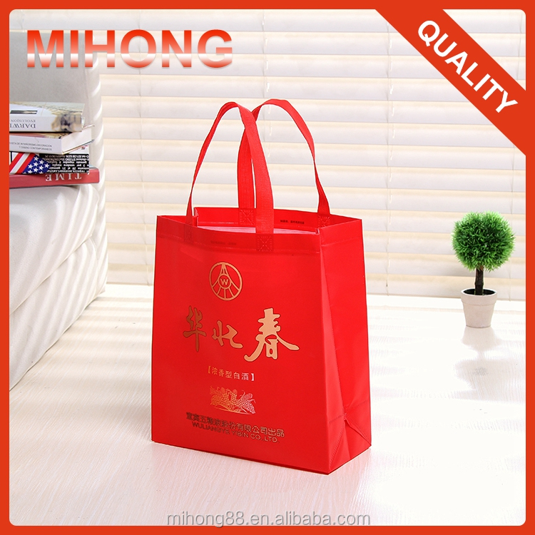 Super popular high quality non woven 6 bottle wine tote bag
