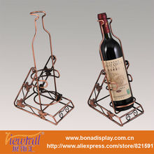 Metal bottle display rack holder BN-C0012(4)