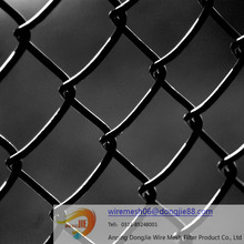 high quality yard guard chain link fence/Quality Green Vinyl Chain Link Fences