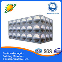 DeZhou high-quality stainless sheet square water storage tank/water tank