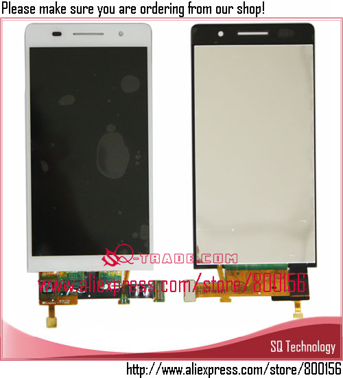 New Arrival for Huawei Ascend P6 LCD and Digitizer Complete white color