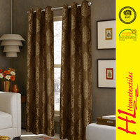 NBHS 2 hours replied high-grade jacquard polyester designer ready made curtains