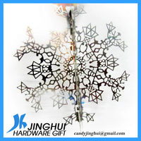 Hot Sale Metal Snowflake Christmas ornament