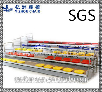 stadium plastic seat, Movable stand, hollow blow molding seat