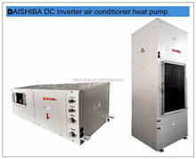China alibaba hot Higher ESP(external static pressure) dc inverter water to air heat pump air conditioner