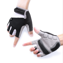 Cycling Gloves Men Sports Half Finger Anti -Slip Bike Gloves