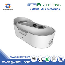 Android & IOS APP wireless Door Bell rechargable battery-powered enabled video Wifi doorbell smart home security camera