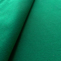Breathable polyester cotton knitted quick dry mesh fabric polo shirt fabric for sportswear