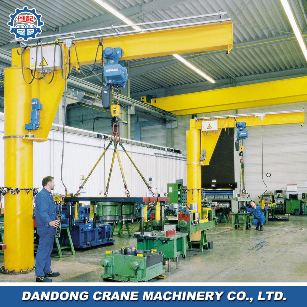 Overseas service center available Tower jib crane specification