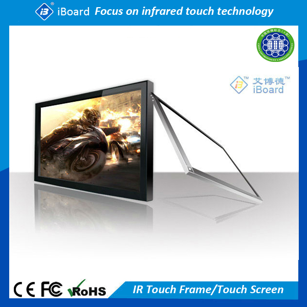 iBoard TE-SN series IR touch monitor touchscreen with touchscreen stand