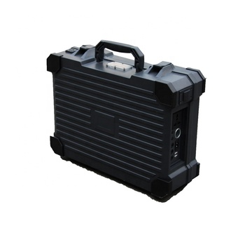 Waterproof briefcase 50w solar power inverter portable generator for island