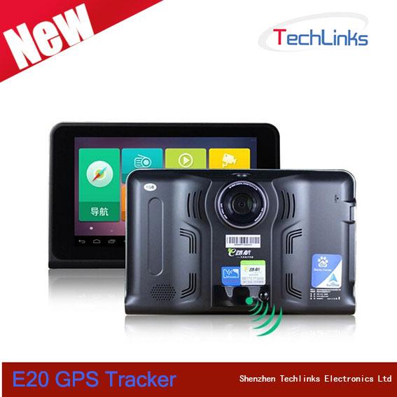 Cheap 7 inch Car DVR 512MB 8GB Tracking Device Support WIFI FM Radio HD1080 AV-In Optional GPS Navigation