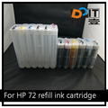 72 Plotter Ink Cartridge for HP DesignJet T610 T790 T1100 Printer Cartridges
