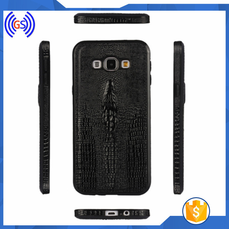 New Deisgn Crocodile Skin TPU Phone Cover Case For Samsung Galaxy A7 Mobile Phone