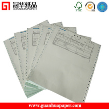 All Size 70 gram computer continuous form paper