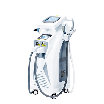 Multifunction beauty machine 4 in 1 elight ipl opt shr rf nd Yag Laser Tattoo removal/hair removal machine