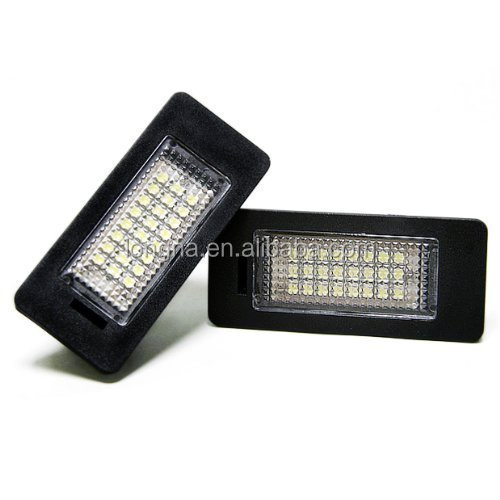 No Error 1210 24-SMD LED License Plate Light For BMW 2007-2013 E90 E91 E92 E93 F30 3-Series 2013-2014 F32 F33 4-Series