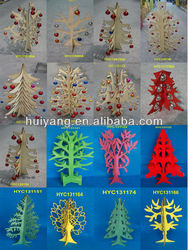hot selling china factory FSC&SA8000 OEM children wooden Christmas tree crafts for shopping gift