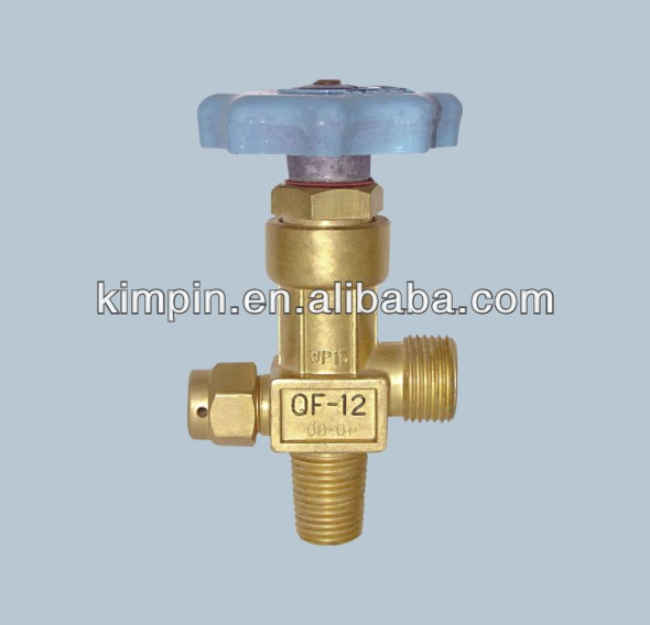 QF-12 oxygen cylinder regulator valve