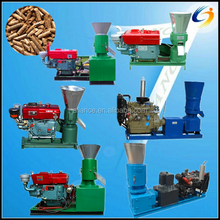 CE,TUV,BV Zhengzhou Allance ALC-200A 200-300kg/h Diesel homemade small pellet mill for cattle, poultry, animal feed